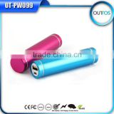 Hot sale advertising power bank 2600mah with ce