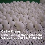 Zibo ceramics inert alumina ceramic ball for chemical tower packing