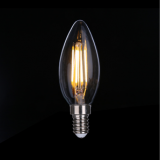 Triac Dimmable LED Filament Bulb C35 4W Clear IC drive 2200-6000K