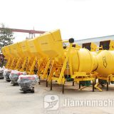 Self loading JZR350 concrete mixer