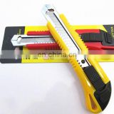 SAR Standard Snap-Off Red& yellow Knife, 18mm
