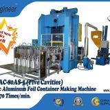 Complete Automatic Aluminium Foil Container Making Machine