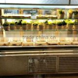 APEX restaurant air cooled refrigeration hot pot equipment chafing dish order food showcase/display chiller buffet equipment
