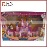 Girls favor play princess castle toy for promotion