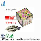 Magic Plastic Coin Saving Box Coin Bank