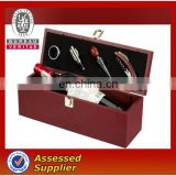 High Quality Wine Set with Wooden box / Hot selling wine set