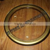 Gold Glass Under Plate,Gold Border Glass Charger Plate,Wedding Gold Glass Charger Plate,Golden Charger Plate
