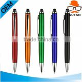 Promotional gift customized logo printed plastic pen capacitive promotional pen