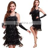 BestDance high quality ballroom latin dance wear competition dance dress tango salsa dance wear OEM