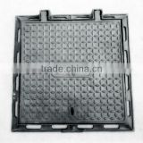 light duty square cast iron manhole cover