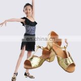 08B5L240 Shiny Children Latin Dance Shoes