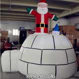 Customized Christmas Inflatable Decorations Christmas Santa Claus for Party and Advertisement