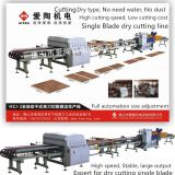 Single blade ceramic tile cutting machine line dry type