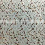 hottest wholesale light weight lace fabric with nylon cotton