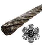 Galvanized Steel Cable 7x19 -Aircraft Cable