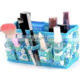 Newest Makeup Cosmetic Storage Box Bag Bright Organiser Foldable Makeup Stationary Container
