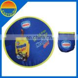Pop up promotion foldable frisbee fan Nylon