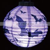 Halloween Party Decoration purple round paper lantern