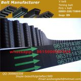 High quality with low price rubber TRANSMISSION belt 117MY21 Toyota  timing belt OEM13568-19046