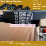 Kia poly v belt/fan belt/transmission belt OEM25212-2B020 korea car belt original quailty poor price  pk belt 6PK1255