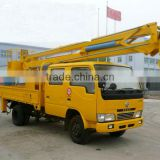Dongfeng 14MT high-altitude work truck with hook