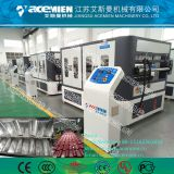 plastic glazed roof PVC wave tile production line
