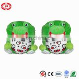Frog Love heart printed soft quality standard kids schoolbag