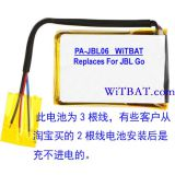 JBL Go Bluetooth sound battery