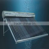 Slant roof mounted solar water heater for bath300Liters