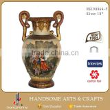 23 Inch Polyresin Home Decoration Flower Vase Stand