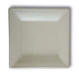 JUST disposable paper pulp bagasse tableware Square Plate10