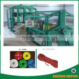 3 strand polypropylene rope making machine for security and military nets use