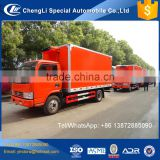 Dongfeng 4ton 5 ton 6 ton reefer container insulation panel freezer refrigerated truck