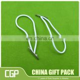 canvas bag pp rope handle with metal tips