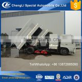New china 6 wheeler road brush sweeper, brooms road sweeper truck for sale , broom sweeper truck