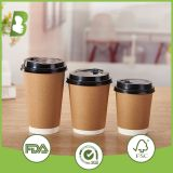 Double wall coffee paper cups