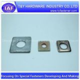 square washer zinc plated