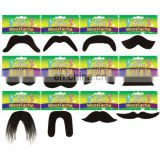 Many shapes artificial mustache hot sale fake beard wholesale MH2140