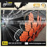 Spray Paint Spiral Steel Pipes/S235JRH ERW STEEL PIPE IN Tianjin factory&widely used erw steel pipe