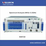 SA9122,spectrum analyzer portable, 9KHz~2.2GHz,1Hz resolution,USB/LAN interface,digital spectrum analyzer
