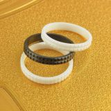 Zirconia Ceramic Ring With Groove Zirconia Blank Ring