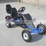Outdoor pedal go kart,sandbeach cart for two person F160AB