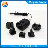Wholesale interchangeable plug ac power adaptor 12 volt 1amp with EU UK AU US plug For home