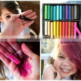 Colorful hair chalk 24pcs/pack colored chalk powder pastels