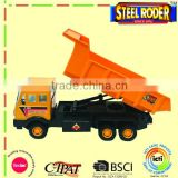 big size steel plastic yellow super dump truck construction toy vehicle
