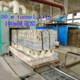 Continuous furnace 100mTile production line1500℃
