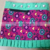 winter short length mini kids skirt for casua wear