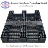 ISO Passed 12 years factory esd plastic pallet esd tray antistatic pallet