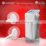 2015 professional high effective large handle, 808nm diode laser permanent hair removal / big spot size with CE