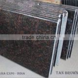 Tan Brown Granite Counter Tops / Stair Case / Floor Tiles